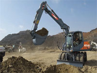 Atlas mobile excavators are the all-purpose excavators for road construction and underground engineering work. They are enormously strong, solid and mobile and can be operated effectively in virtually all kinds of conditions.