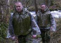 A new version of the revolutionary Blizzard Survival Jacket has been developed as an ultralight thermal garment specially for military personnel operating in extreme weather.