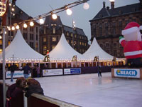 The result has been a hectic time for De Boer, who has been called upon to provide a wide range of temporary options for budding skaters. We have provided short-term venues for use as ice rinks across many countries in Europe.