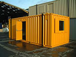 Blast Resistant Portable Accommodation from Extraspace