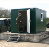 Extraspace offer a large range of buildings to cater for all military requirements. They range from Customised Modular Buildings, Personnel shelters, Liquid and Chemical Storage Containers to Modular Office / Accommodation Unit.