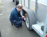This course carries a LANTRA Awards certification which is recognised throughout the UK. It covers the law, safety checks, loading and security, correct weight distribution. using different types of hitch and matching the trailer to the towing vehicle. There is also a practical manoeuvering session and on-road driving phase.