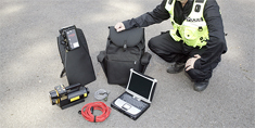 Scanwedge is designed specifically for portable x-ray screening in tough law enforcement and EOD environments.