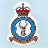 Red Arrows Crest Sticker
