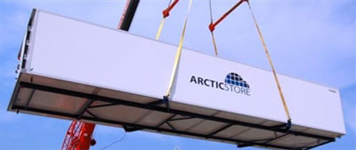 ArcticStore can now offer new XXL widebody 48' portable cold stores with all the traditional ArcticStore benefits and 37 UK pallet capacity, three pallet wide portable cold store featuring new technology refrigeration machinery.